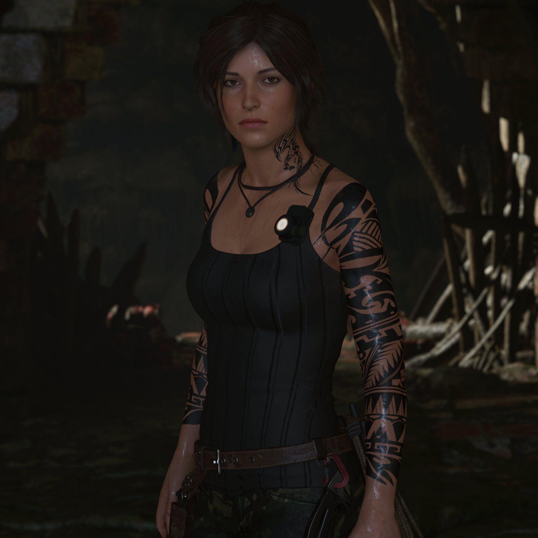 Ugh She S Hot Mod Tattoos Laracroft Tombraider Tomb Raider