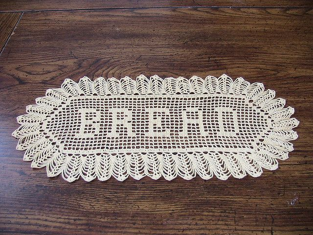 Filet Crochet Bread Doily By Dianezirin On Ravelry Free Pattern