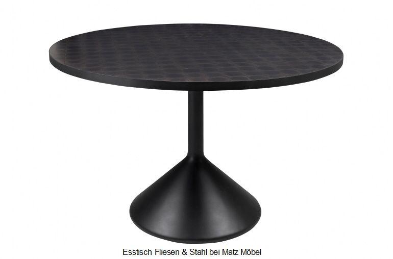 Esstisch Rund Beton Fliesen Esstisch Tischplatte Rund Esstisch Modern