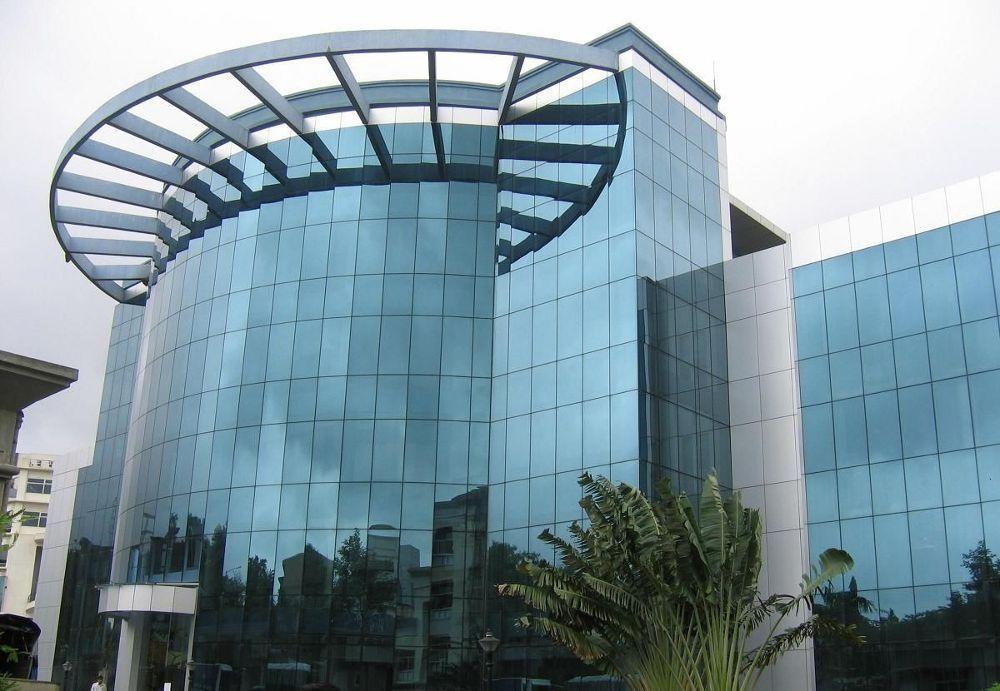 Office Building Hexaware Technologies Glassdoor Photos Building Office Building Industrial Buildings