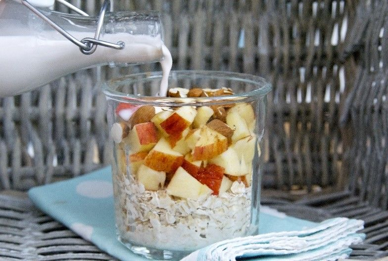 Alkaline diet recipe morning muesli breakfast recipe
