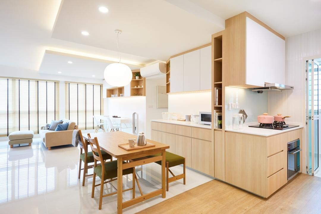 Bukit Batok, The Local INN.terior, Scandinavian, Kitchen ...