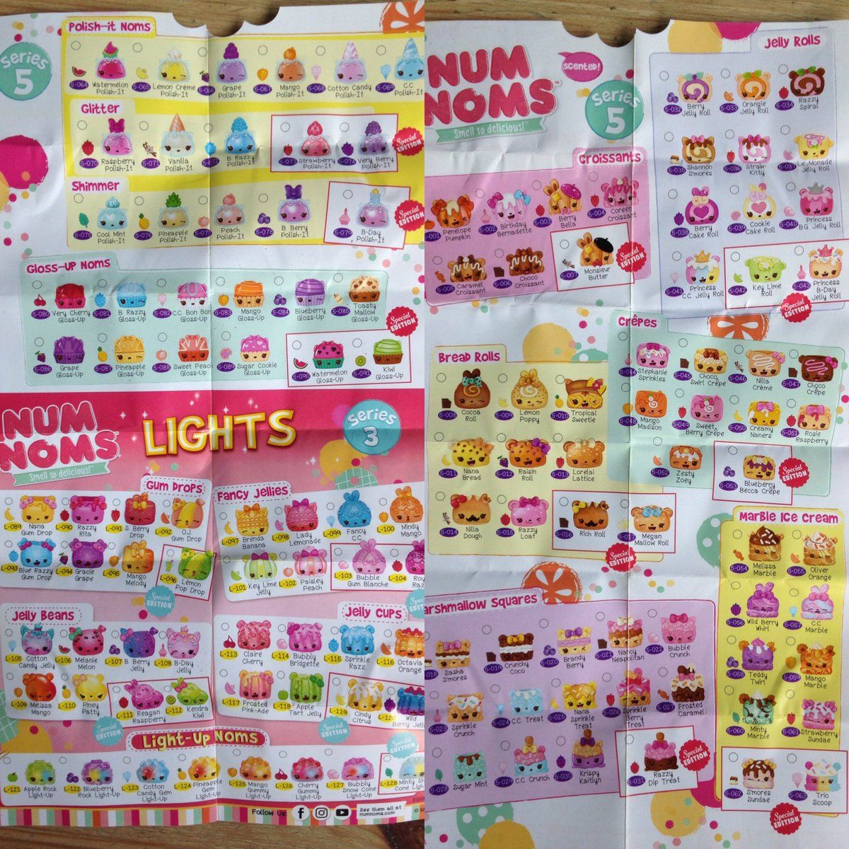 Lollies Or Candy Lolliesorcandy Twitter Num Noms Series 5 Check List Nom Noms Toys Num Noms Toys Lollies