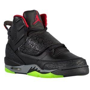 best website 27f3d c09f0 Jordan Son of Mars - Boys  Grade School - Black Gym Red Cool Grey Green  Pulse