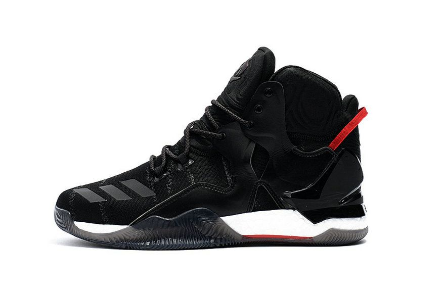 914ea7f8a57f Adidas D Rose 7 Primeknit Core Black White University Red 2018 Legit Cheap  Sneaker