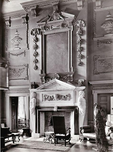 English Country Houses Demolished Interiors