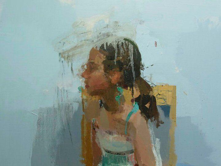 Miguel Coronado Retrato Abstracto Pintura Y Dibujo Arte Del Retrato