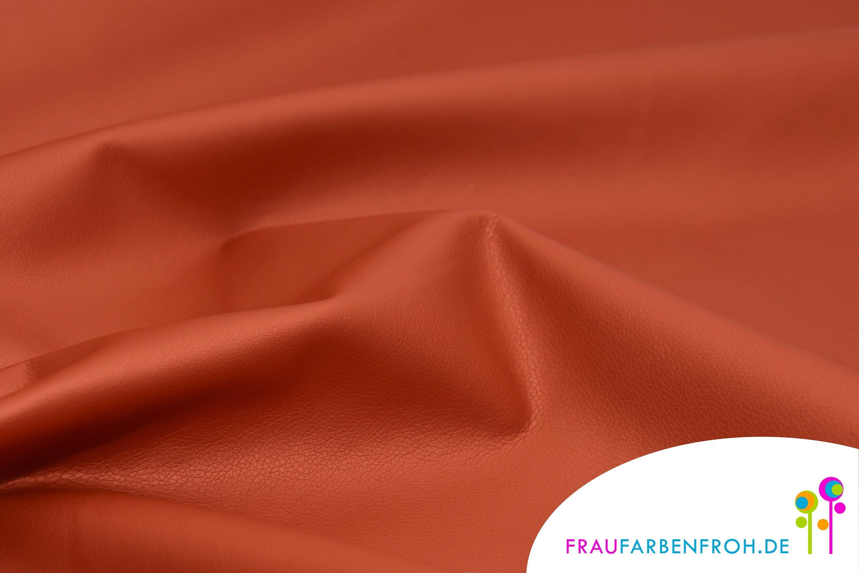 Faux leather ORANGE imitation fabric, imitation leather