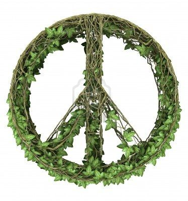Ivy nature peace symbol