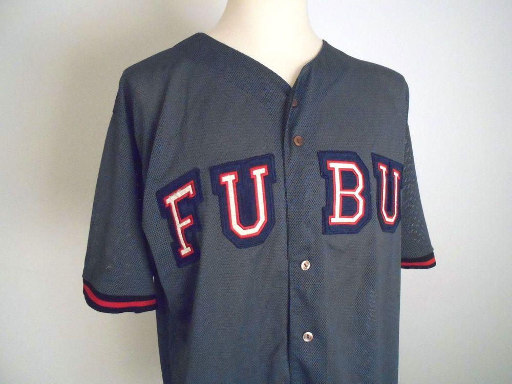 Vintage Fubu 05 Baseball Jersey Fubu Sports Shirt Mens Size Xxl 283 Ebay Vintage Clothing Men Sports Shirts Mens Shirts