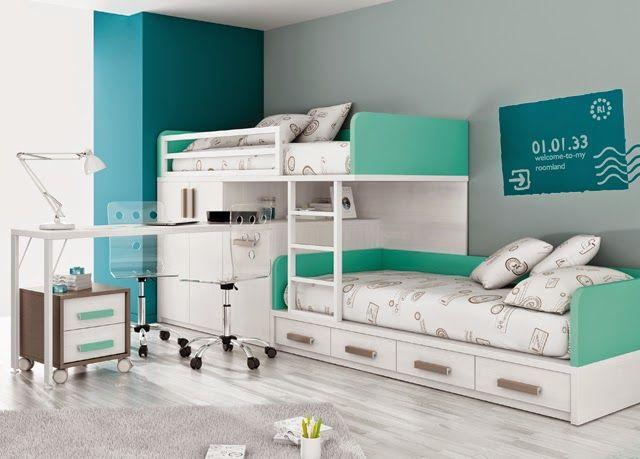 Dormitorios infantiles y juveniles para ni as ni os y for Cuartos de nina de 9 anos modernos