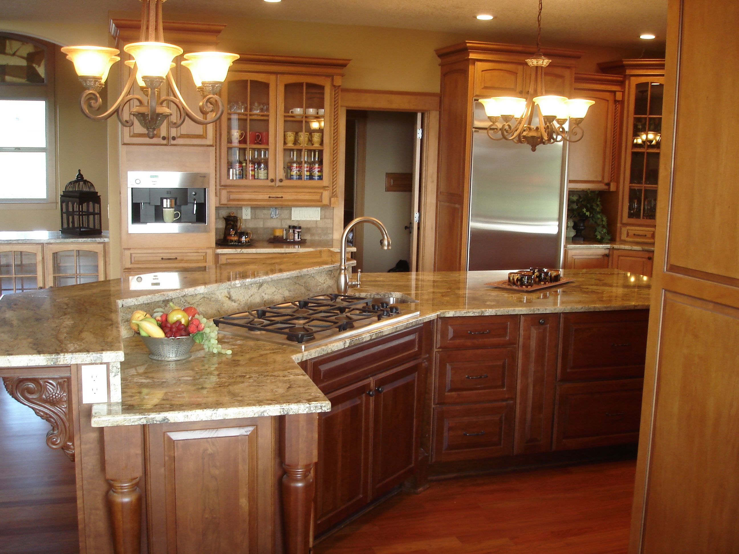 beautiful kitchen island kitchen beautiful kitchens house design on kitchen layouts with island id=25467
