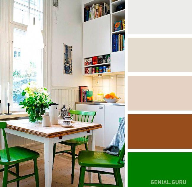 20 Perfectas combinaciones de colores para tu cocina | INTERIOR ...