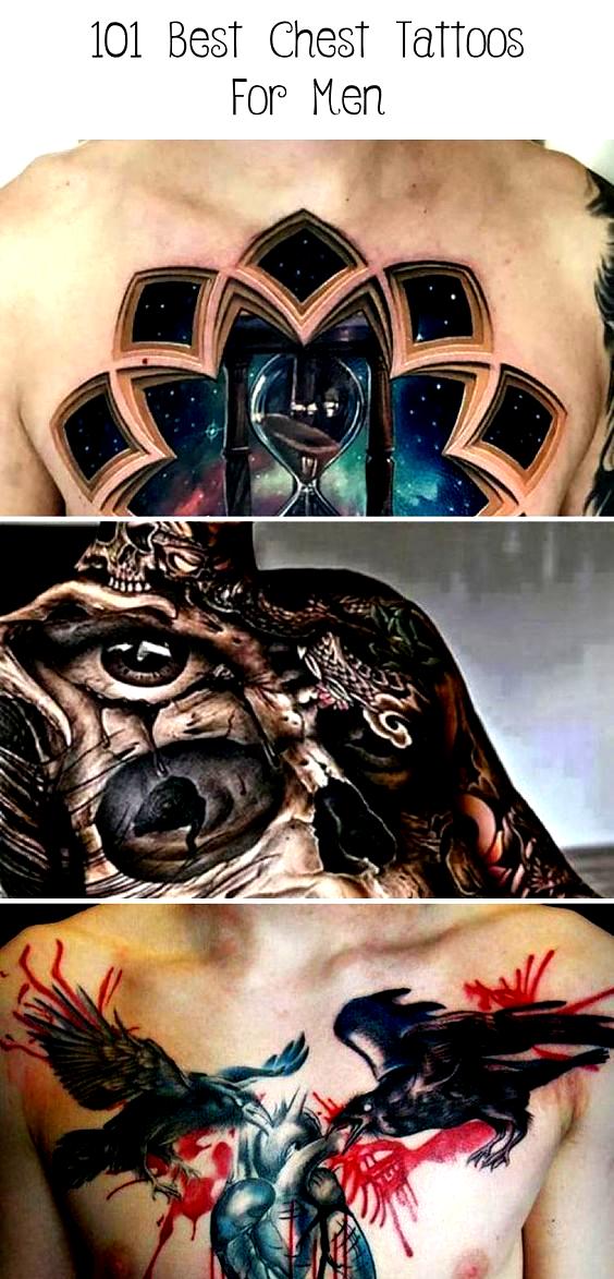 Photo of Brustherz Tattoo – Beste Brust Tattoos für Männer: Coole Brust Tattoo Ideen + Desig …