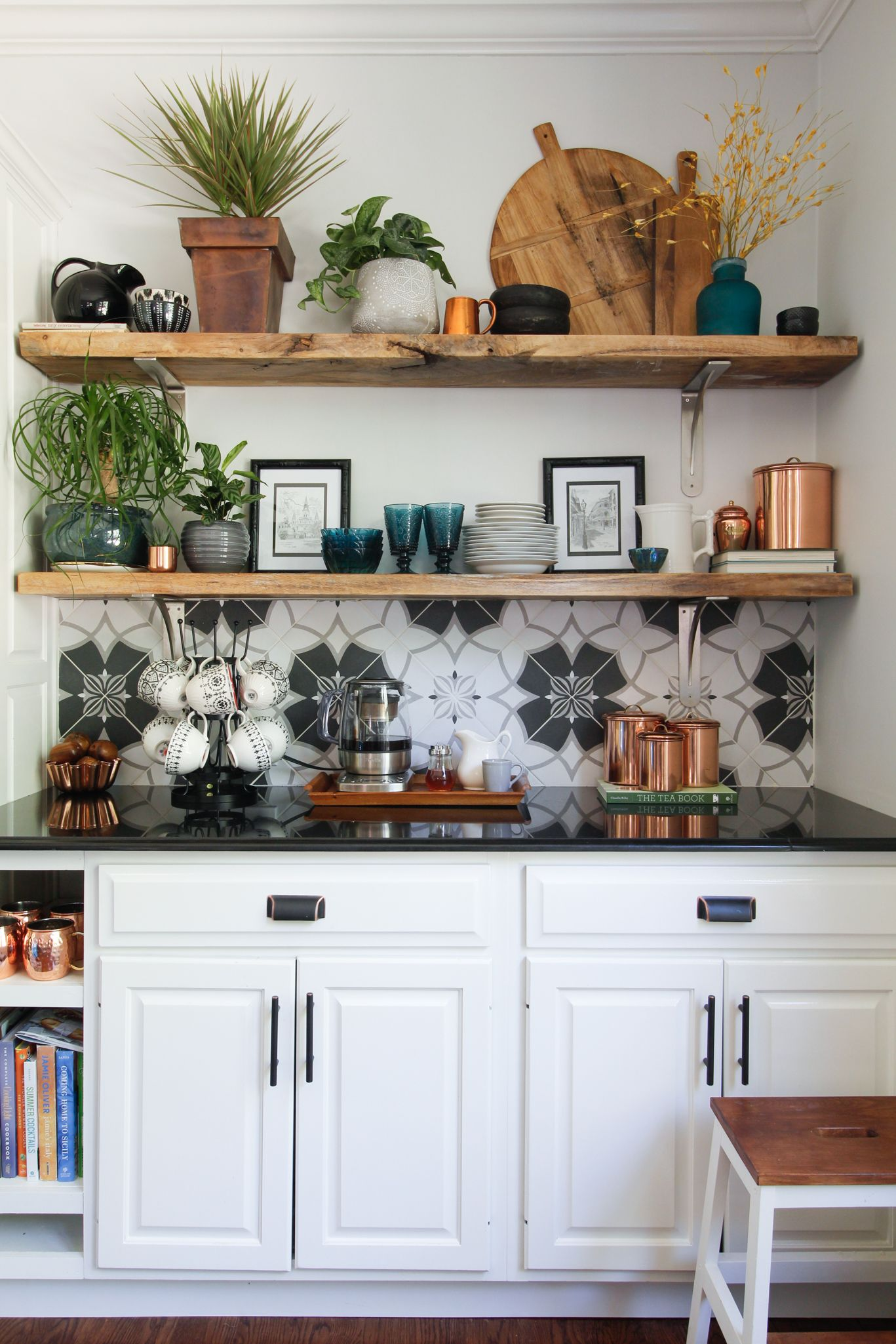 Naturally Fall Home Tour Deeplysouthernhome Kitchen Interior