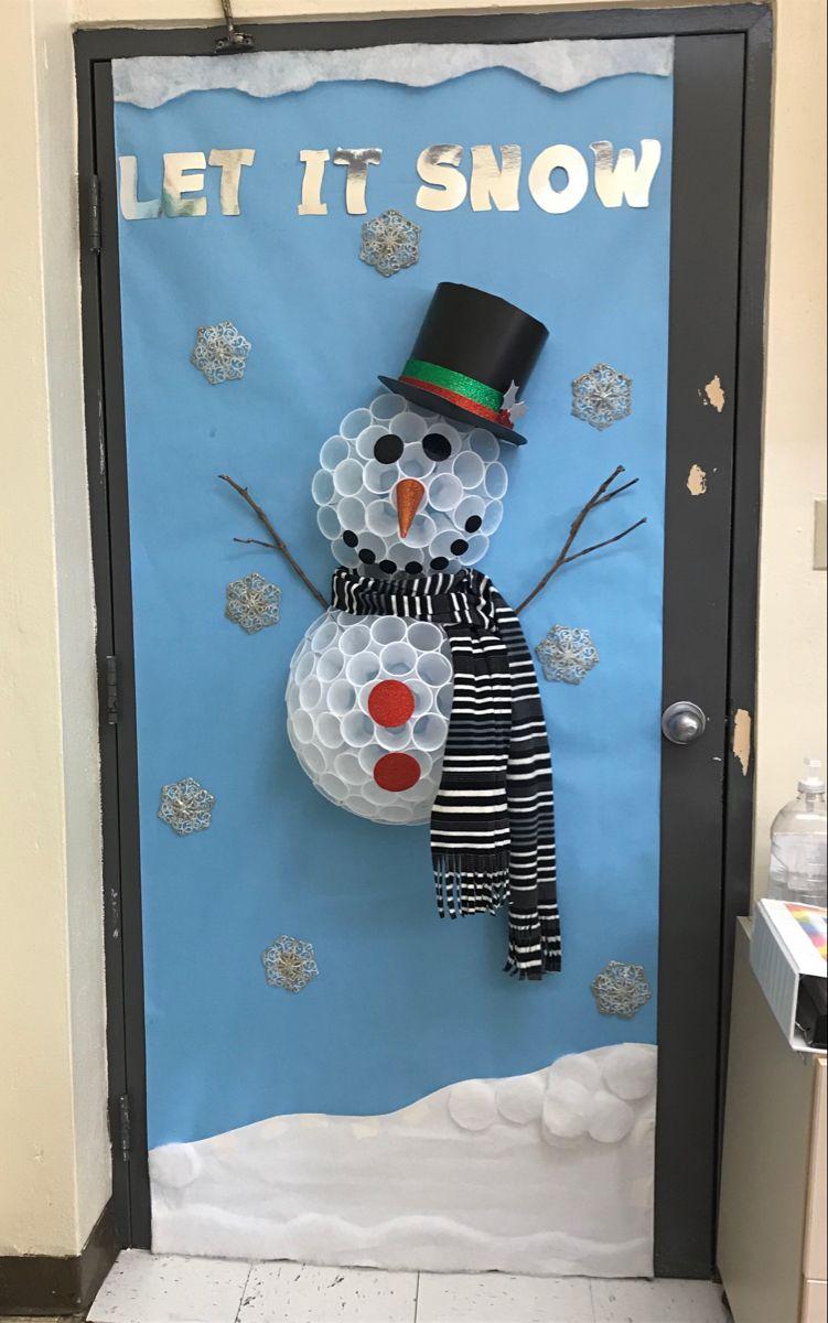 Snowman Door ⛄️