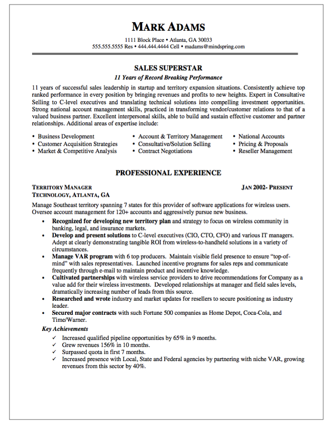 sales account manager resume example for marketing professional with job experience as territory global account manager - Global Account Manager