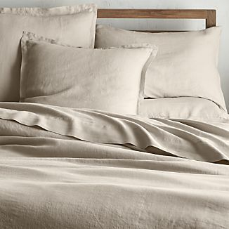 Lino Ii Flax Linen Duvet Covers And Pillow Shams