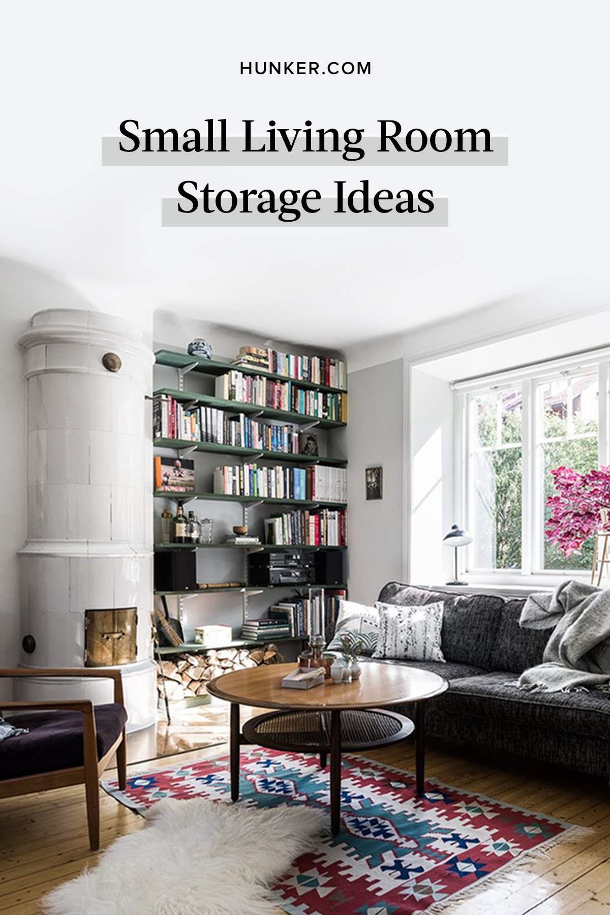Yep That S Right These Small Living Room Ideas Will Pretty Much Solve Your Storage Plight Hunker Small Living Room Small Living Rooms Small Living #small #living #room #storage #ideas