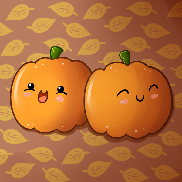 It's always the little pumpkins that are the best hehehe