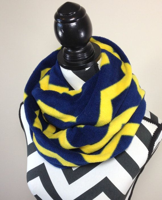 Navy And Yellow Scarf Navy Blue And Gold Chevron Print