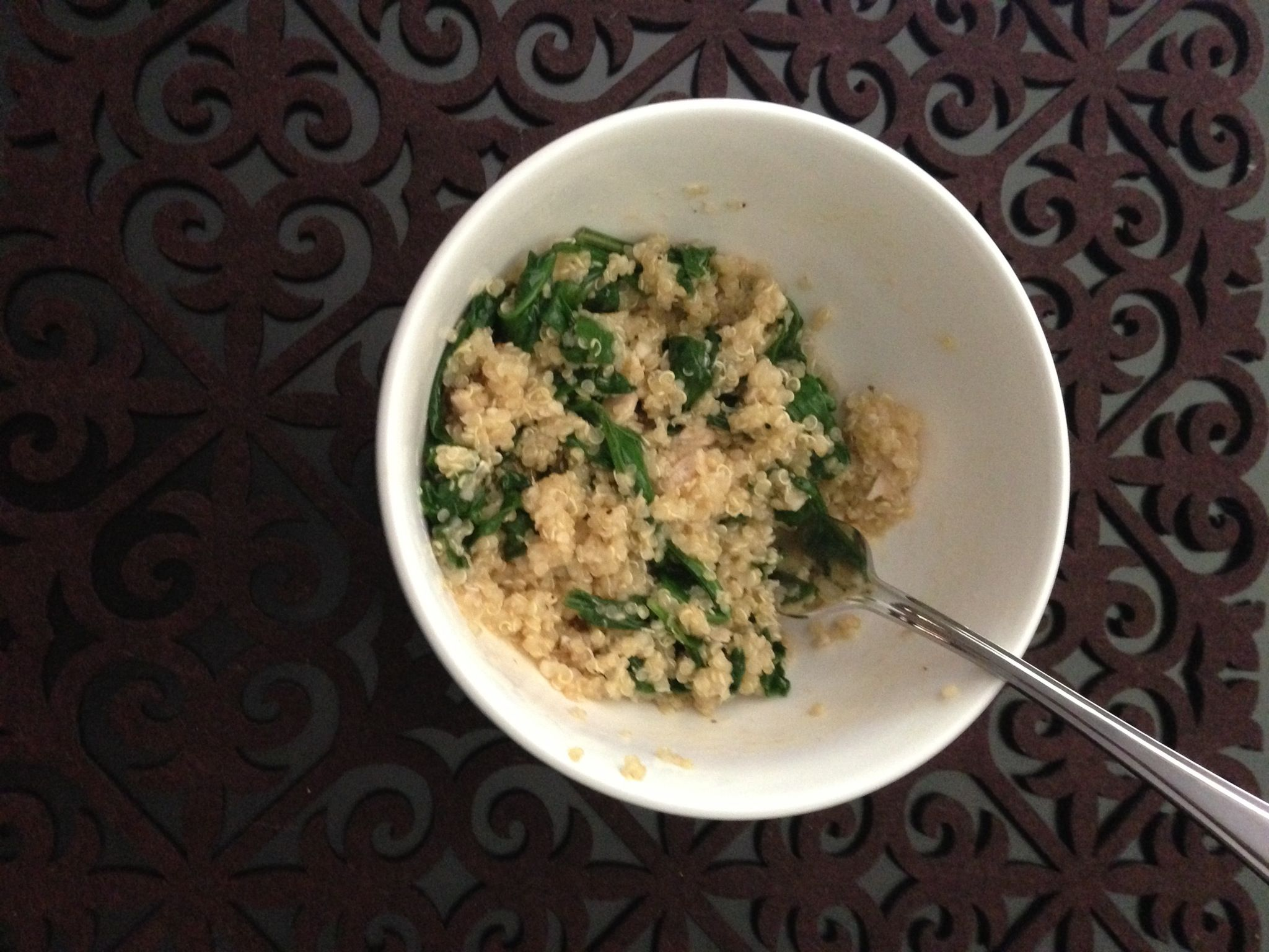 Made this quinoa dish for lunch. Yummo