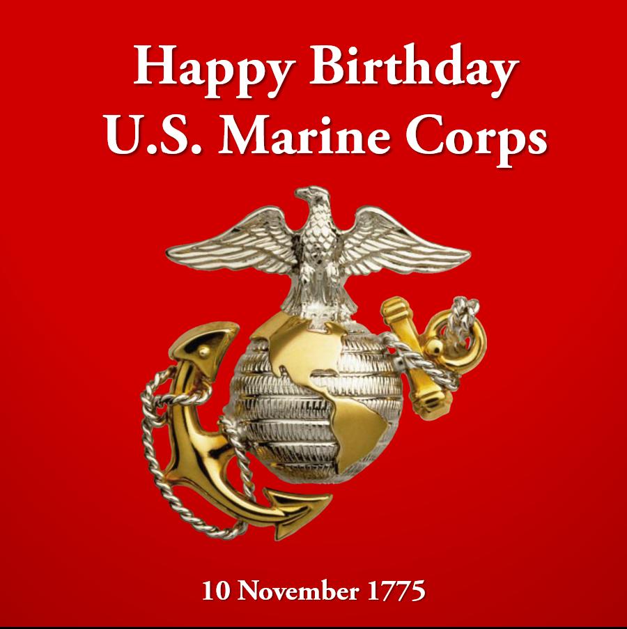 Happy 241st birthday to the U.S. Marine Corps and here's
