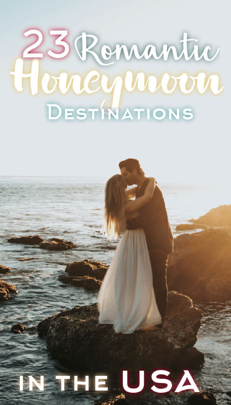 23 Best Honeymoon Destinations In The USA For Couples