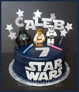 Star Wars 40th Birthday Cake With Images Star Wars Birthday