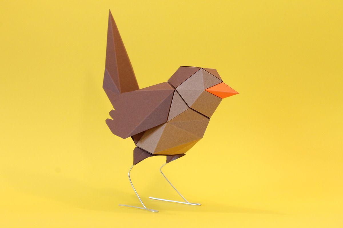 Hirschtrophae Papercraft Verenas Little World 1