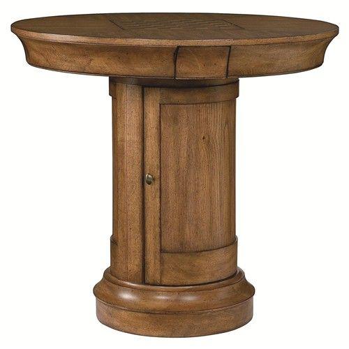 Pub Height Game Table With Storage   ... U003e Dining Room U003e Pub Table