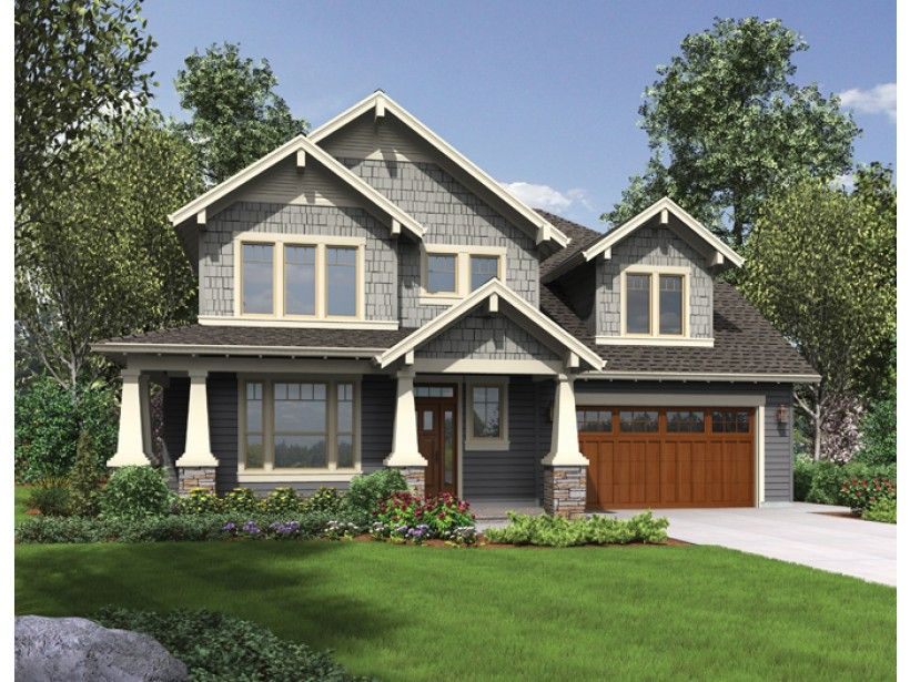 Eplans bungalow house plan craftsman overflowing with for Eplans craftsman bungalow 11192