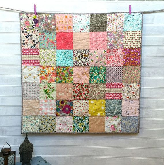 Patchwork Quilt Liberty Of London Traditional Fabric Modern Design
