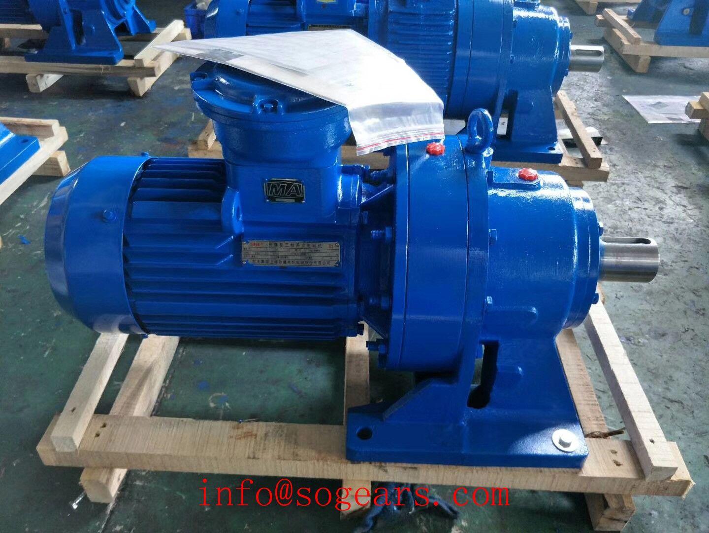 Explosion Proof 230v Ac Motor Pump Electric Motor Gear Reduction Motor Speed