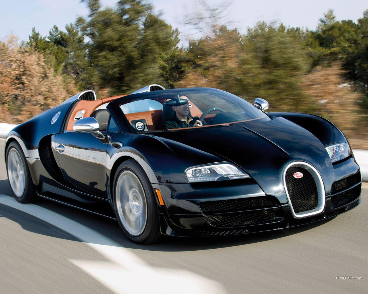 Buggati Veyron Bugatti Veyron Sportauto S Auto Fotografie