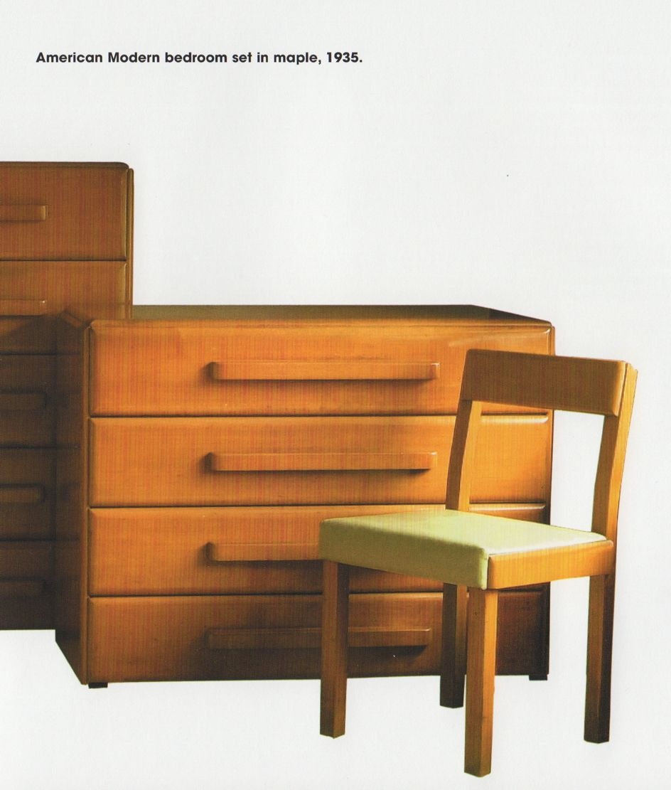Russel wright american modern furniture for conant ball 1935