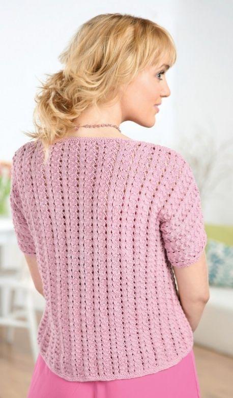 Shell Cardigan Free Knitting Patterns Garments Knit Patterns