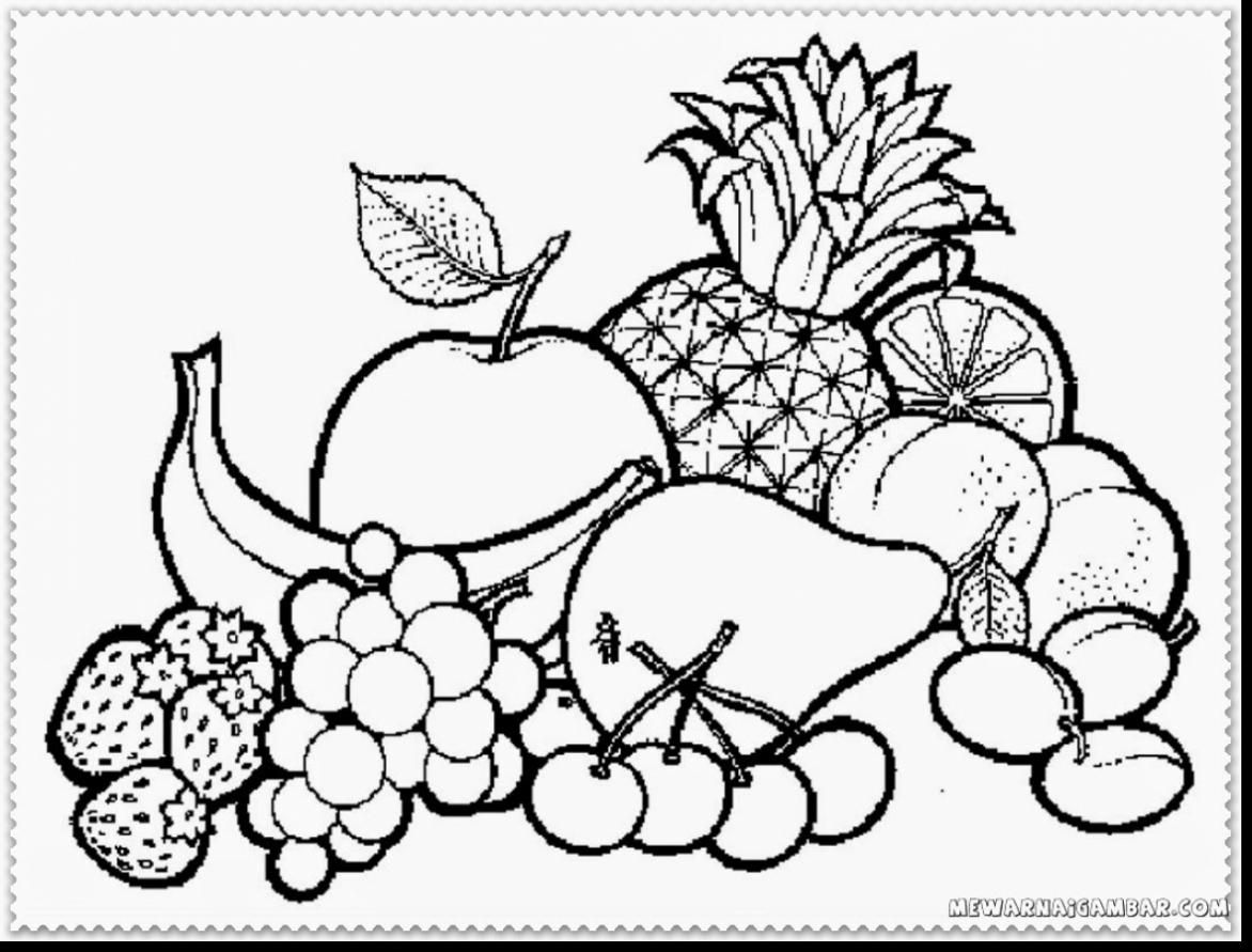Coloring The Fruits