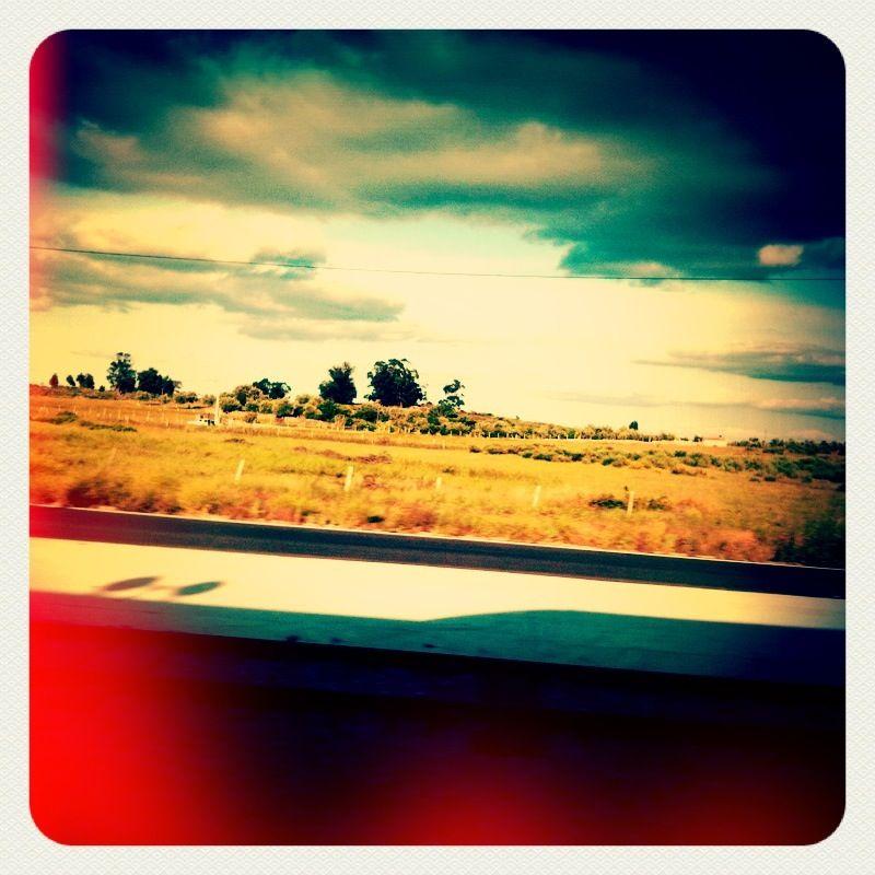 Vista do Comboio