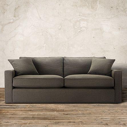 Filmore 87 Upholstered Sofa In Ducati Metal Arhaus Furniture