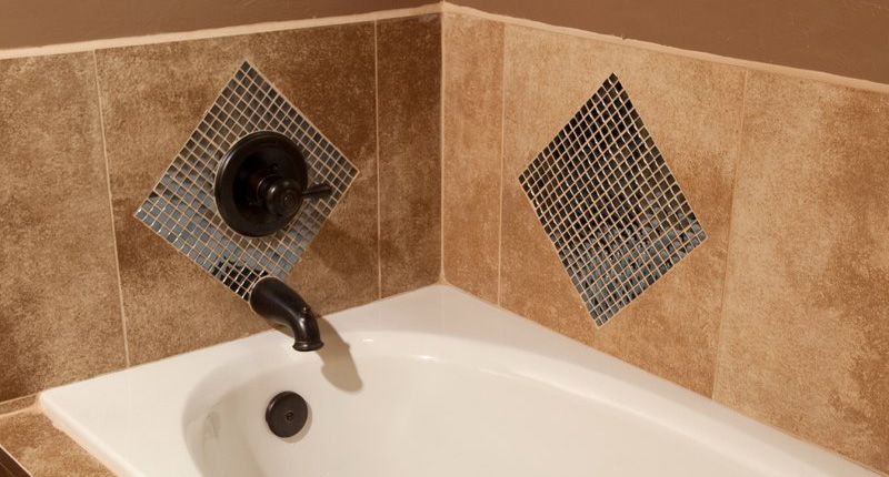 glass tile accent