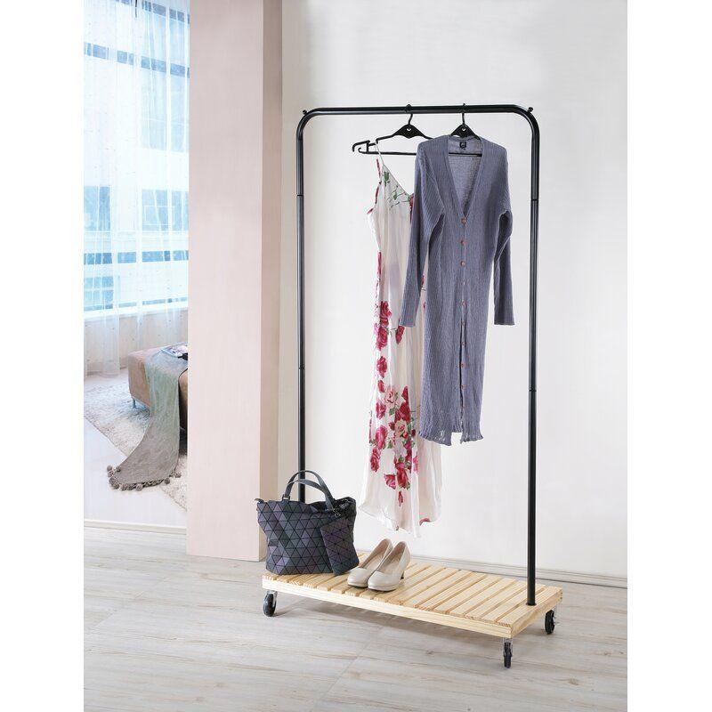 60 Wayfair Clothing Rack Garment Racks Wood Clothes
