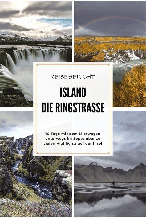 #reisebericht #island ... 10 Tage unterwegs entlang der kompletten Ringstraße und vorbei an zahllosen Highlights der #insel