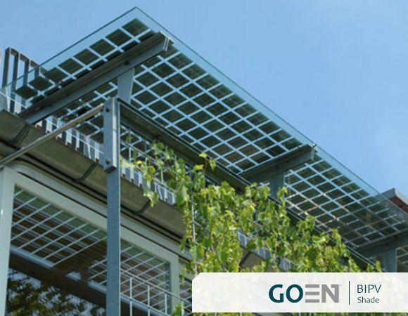 Solar Energy Systems Photovoltaics Building Integrated Shades Facade Bipv Goen Architektur Solaranlage Solar