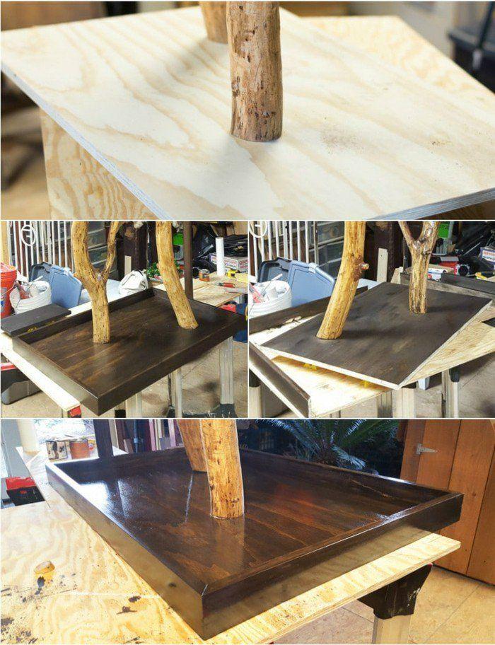 kratzbaum selber bauen 67 ideen und bauanleitungen katze pinterest. Black Bedroom Furniture Sets. Home Design Ideas