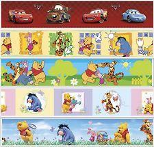 Disney Cars / Winnie Puuh Bordüre selbstklebend Kinderbordüre Tapete ...