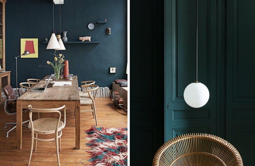 Un intérieur en bleu profond  15 inspirations pour oser