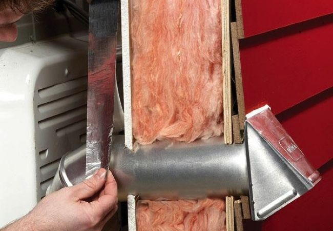 How To Install A Dryer Vent Dryer Vent Installation