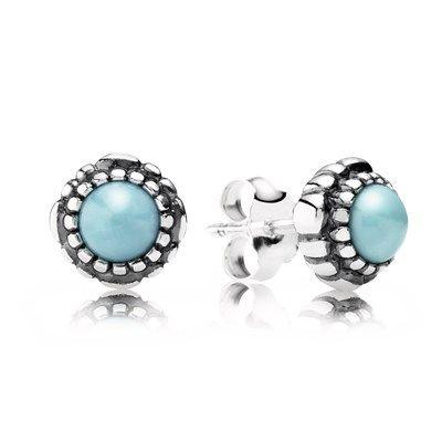 pandora birthstone earrings