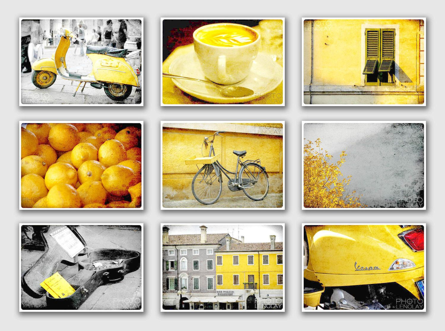 Italy Photography collection - Fine Art Photography - Yellow ...